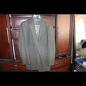 Other - Green pea coat slim fit